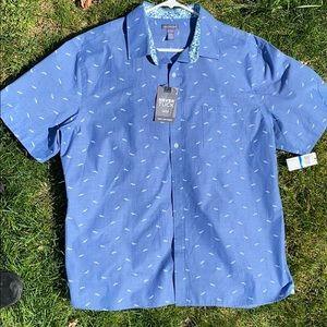 Men's Van Heusen Never Tuck Slim Fit Shirt